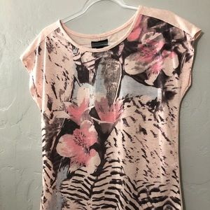 I Jeans By Buffalo Floral Shirt NWT